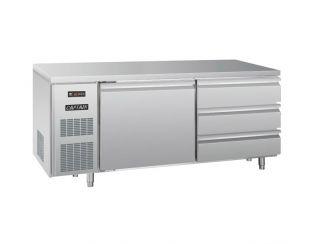 平台风冷冷藏柜(一门三抽屉)